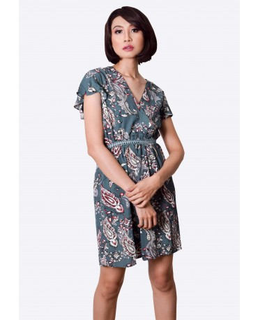 Freeway Overlap Dress FWYDC-012G9