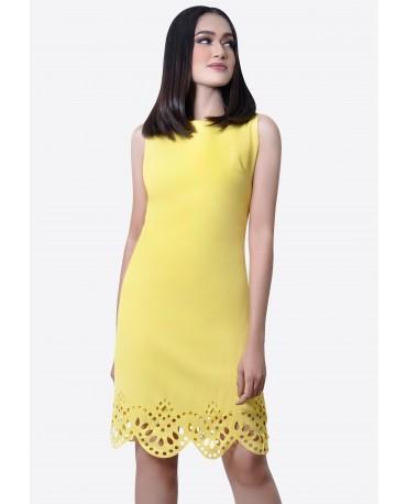 Freeway Daphine Laser Cut Dress FWYDC-002D9