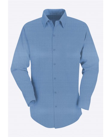 Stylist in Pocket Mens Long Sleeve Button Down Collar Shirt SIPUT-032J9