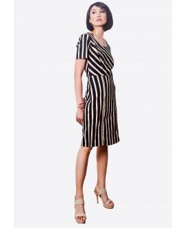 Ensembles Stripes Dress ENSDW-002G9