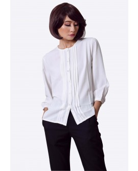 Freeway Pleated Button Down Top FWYTC-020G9