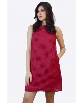 Freeway Eyelet Short Dress FWYDC-012J9