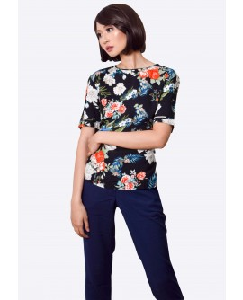 Freeway  Floral Top FWYTC-022G9