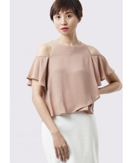 Freeway Inigo Cold Shoulder Blouse FWYTC-051I8