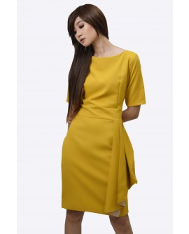 Ensembles Round Neck Dress ENSDW-006H9
