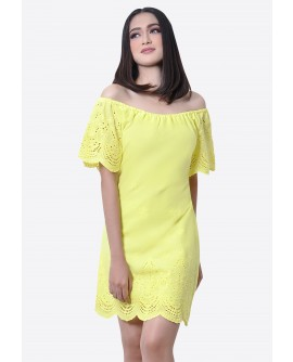 Freeway Demi Offshoulder Dress FWYDC-003D9