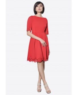 Freeway Addiena Offshoulder Dress FWYDD-001A9