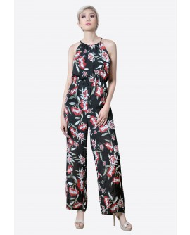 Freeway Haltered Jumpsuit  FWYDR-001C9