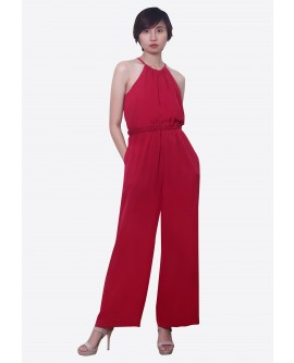 Freeway Lara Haltered Jumpsuit  FWYDR-002L8