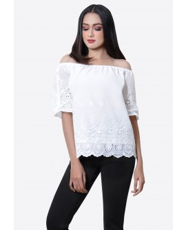 Freeway Destinee Offshoulder Top FWYTC-002D9