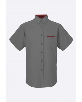 Stylist in Pocket Mens Short Sleeve Top SIPUT-037L9
