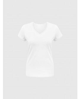 Stylist in Pocket Women's V-Neck Tees SIPPPE-077F0