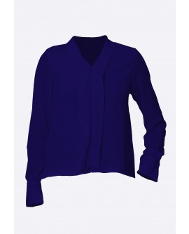 Stylist in Pocket Ladies Long Sleeve Top SIPUT-014H9