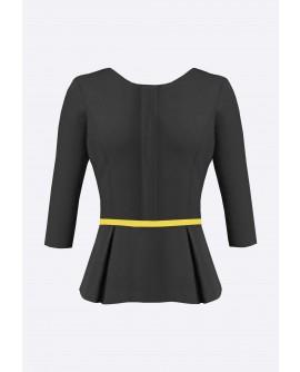 Stylist in Pocket Ladies Peplum Blouse SIPUT-034K9