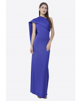 22BC One Shoulder Long Dress BC17044
