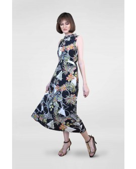 Freeway Floral Maxi Dress FWYDC-022L9