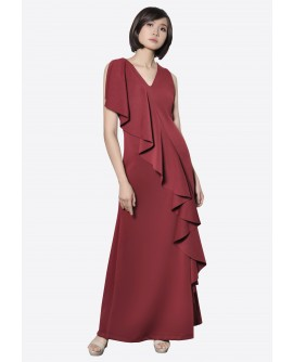 Ensembles Lryle One Shoulder Maxi Dress ENSDDDC-001A9