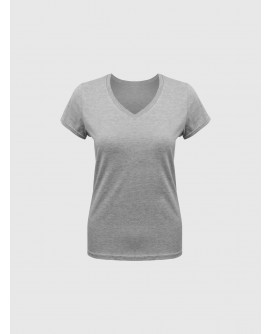 Stylist in Pocket Women's V-Neck Tees SIPPPE-077F0